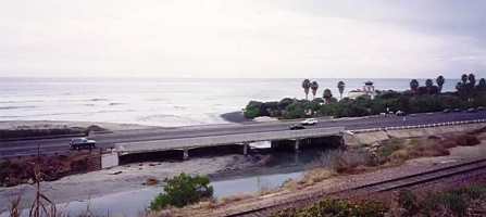 Relocation of the San Elijo Lagoon Inlet